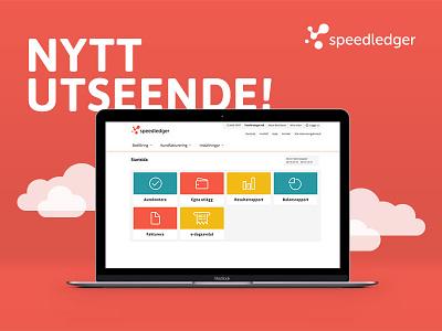 SpeedLedger New Look new interface web gui ui speedledger