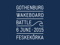 Gothenburg Wakeboard Battle Logo