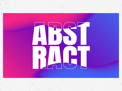 Abstract Background gradient background abstract typography vector design ui graphic design