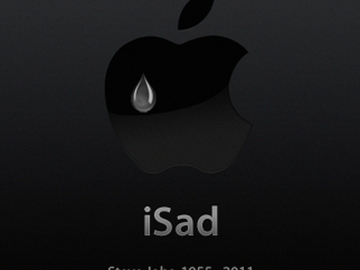 iSad steve jobs tribute