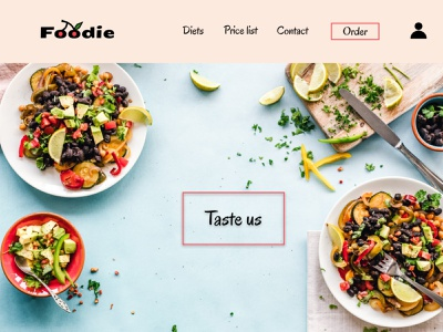 Catering website web food catering logo figma ui uidesign design advertising web design advertising design website design webpage website