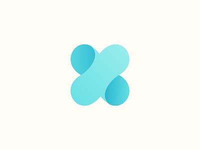 X Letter Logo Design identity branding logo mark logotype modern logo gradient abstract o p q r s t u v w x y z a b c d e f g h i j k l m n monogram x logo x letter typography logo design letter icon 3d design logo illustration