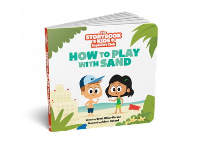 How to Play with Sand Book Illustrations children book illustration childrens illustration childrens book kids illustration