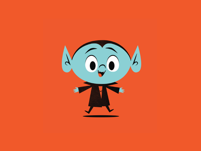 Lil Drac illustration halloween vampire dracula