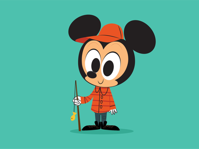 Hey Mickey! quickiemickey disney illustration mickey mouse