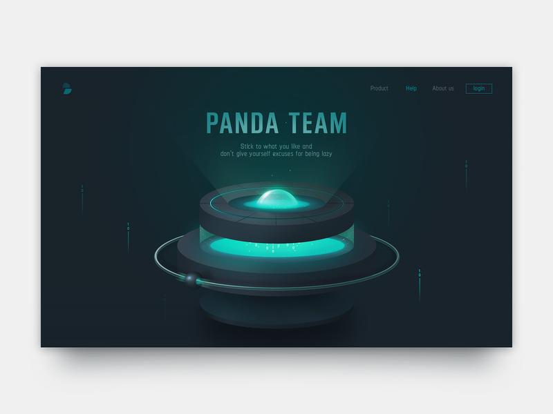 Data Page illustration web website design ui