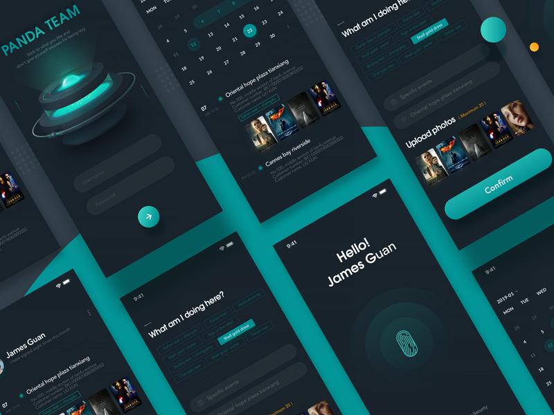 Smart Sign In illustration app design app design icon ui web ios guide ui