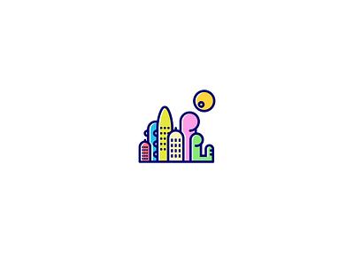 city adult toy landscape love couple dildo logo sex adult logo