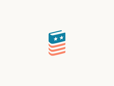 School Board Elections political campaign elections usa flag star usa book political