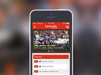 Best Odds iOS app