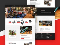 eCommerce Design for a Mountain Bike retailer