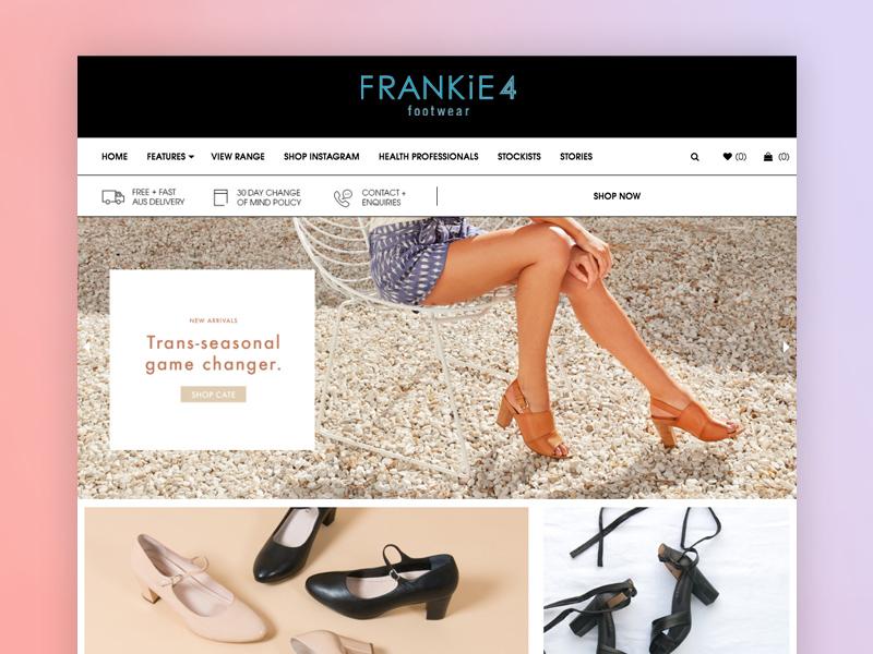 Frankie4 eCommerce Designs ecommerce