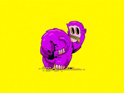 Daydream sketch cartoon character illustration trash