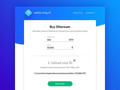 Coinbuddy. Web Design, Brand Identity logo mining landing website crypto crypto exchange crypto trading crypto currency ethereum coin ui web design web