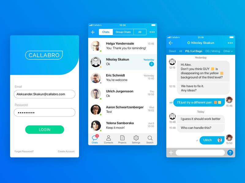 Callabro app