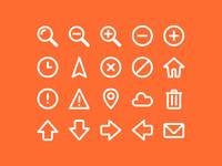 WIP: Icon set