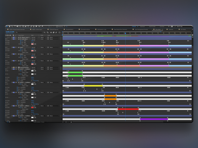 Animation Timeline timeline aftereffects
