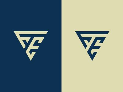 FE Logo vector creative account initials typographic alphabet letters fe monogram logo fe monogram fe logo fe illustration design icon logotype logo designer logo design identity logo branding