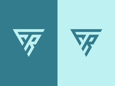FR Logo geometric initial logo creative simple modern logos fr monogram logo fr monogram fr logo fr graphic design illustration design logotype icon logo designer logo design identity logo branding