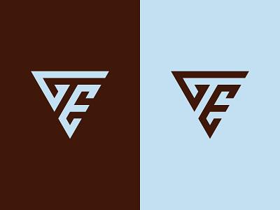 GE Monogram Logo minimal clean ge monogram logo modern eg monogram eg logo eg ge monogram ge logo ge graphic design illustration design logotype icon logo designer logo design identity logo branding