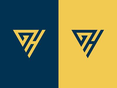 GH Logo brand vector lettermark letter logo sports logo minimalist modern logos gh monogram gh logo gh illustration design logotype icon logo designer logo design logo identity branding