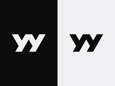 YY Logo bold logo fitness logo fashion logo sports logo minimalist clean logos yy monogram yy logo yy graphic design illustration design logotype icon logo designer logo design identity logo branding
