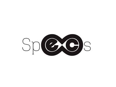 Specs art flat icon design branding vector logo minimal