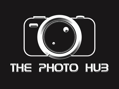 The Photo Hub flat graphic design branding design design illustration vector minimal logo branding