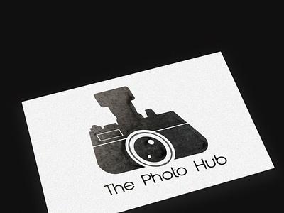 The Photo Hub mockup illustrator flat minimal branding illustration logo design