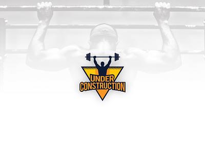 GYM logo branding gymnasium healthy weight loss weightlifting weight lifting bodybuilding bodybuilder gym logo logo