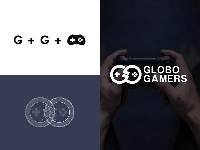 Globo Gamers logo logo design simple branding gamers logo g logo