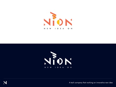 Logo Design for Tech Company company logo logo tech logo n letter idea bulb idea iconic logo brand identity branding logodesign