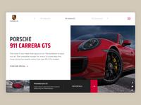 Porsche Carrera 911 GTS.