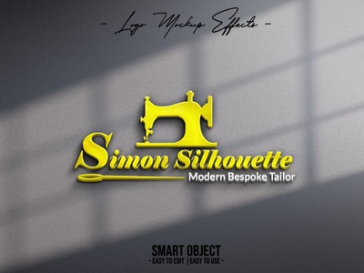 Simon Silhouette Logo Design