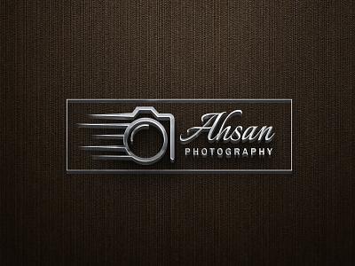 Ahsan Photography Logo Design modern logo design branding design logo creative logo design unique logo design creative design creative and unique log design graphicdesign