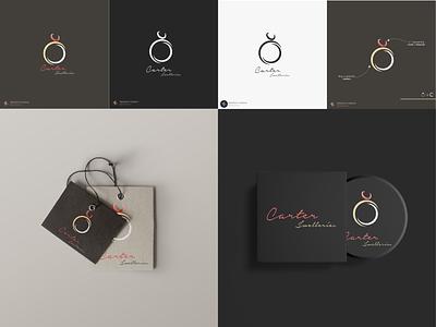 Carter Jwelleries | Logo & Brand Identity luxury brand logodesign logotype logoinspiration logoideas vector type minimal logo illustration graphic design flat design branding