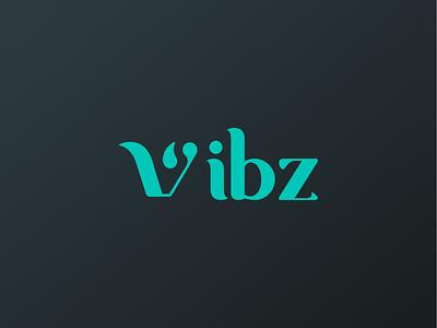 Vibz - A Social Blogging Platform Logo Concept logoinspiration icon typography flat minimal logo logoideas type design branding