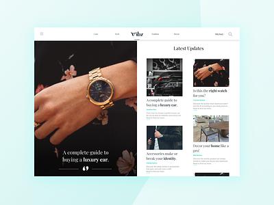 UI Design Blogging platform minimalism fashion brand blog design user interface design ui ideas ui kit figma uiux ux