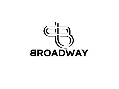 Broadway logo mark design logomark lettermark graphic design vector icon modern logo illustration design branding brand design
