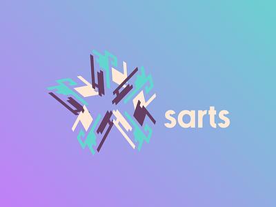 sarts logo design vector logo mark graphic design typography icon logo modern illustration design branding brand design