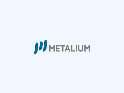 metalium logo design logo design construction modern illustration design brand design typography animation logo branding graphic design