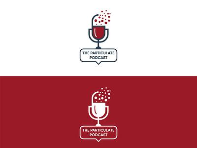 Fat and minimal podcast logo design adobe illustrator scatter mic logo mic flatdesign profeessional logo professional design eye catching flat design podcast icon branding design logo graphic design vector minimal flat