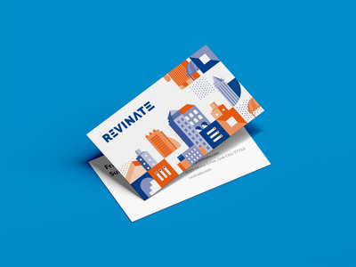 Business Card branding illustration print vector