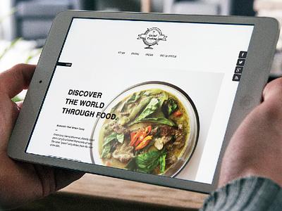 Global Cooking Website