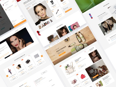 Natura new website homepage ui landing perfumes shop buy site design ux institutional content blog ecommerce perfume interface bodycare beauty website natura