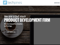 Techpines Landing Page