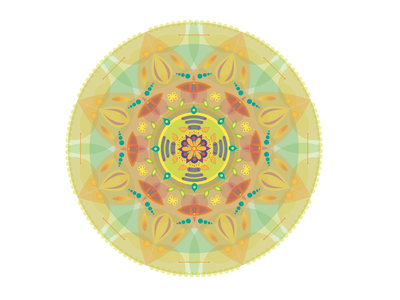 Mandala publish edit mandala art adobe illustrator motion design shapes texture yellow color vectorart illustrator vector digital design animation illustration visual design mandala