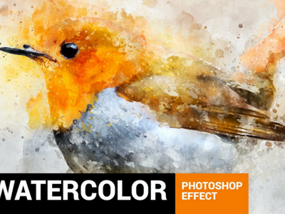 Perfectum 2 - Watercolor Artist Photoshop Action effect tutorial sketch photo manipulation pencil perfect modern art drawing painting brush digital art watercolor artist artwork