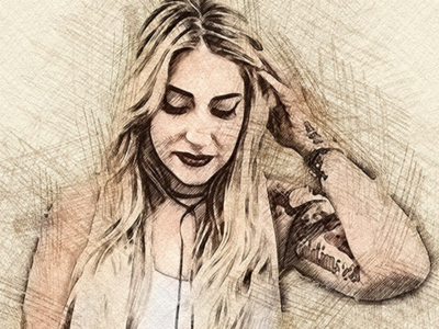 Pencil Sketch Photoshop Action with 6$💥💖😍 tutorial template style sketch photoshop photography pencil paint interior hand free hand drawn hand drawing exterior effect drawing draw design art actions abstract
