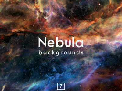 Nebula Backgrounds Vol.7 cosmic night galaxy supernova colorful stars cosmos science hubble astronomy explosion real sky nebula space